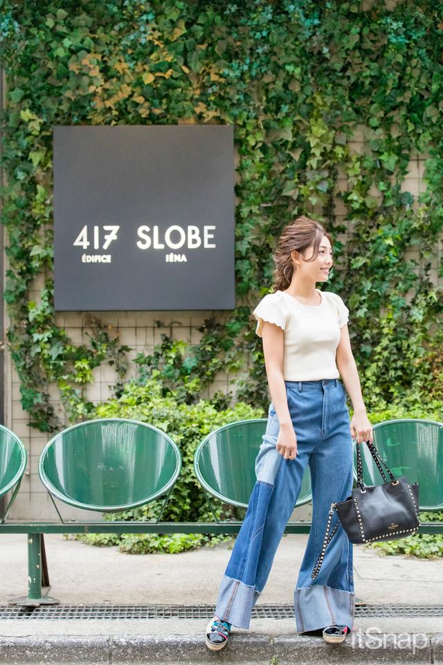 モデル、タレント・石川ナサさん(150cm)