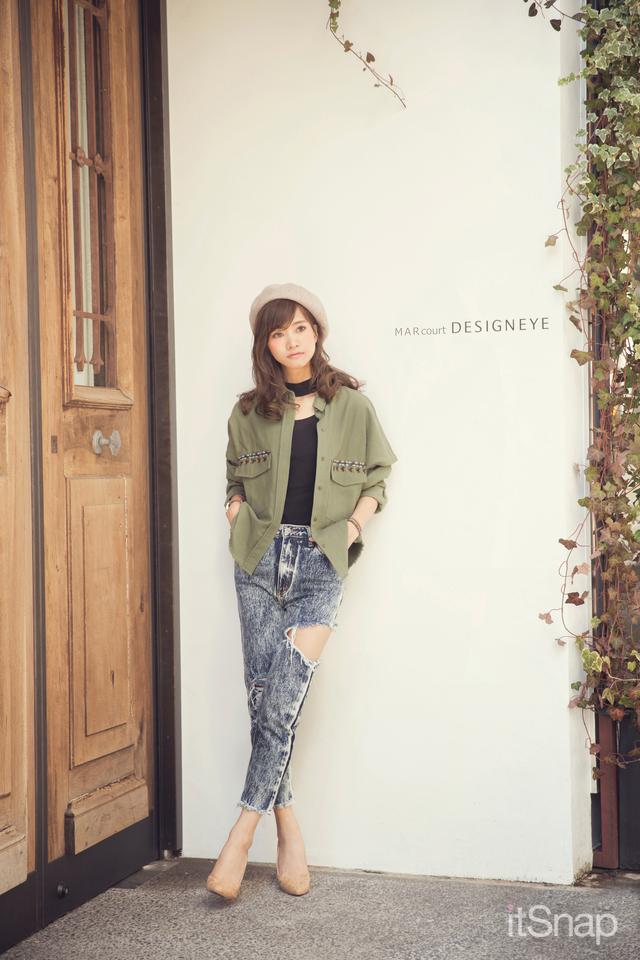 モデル・林まきサン(164cm)