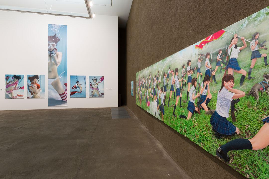 古賀学×チェン・チンヤオ展示室:「きみになりたい。」