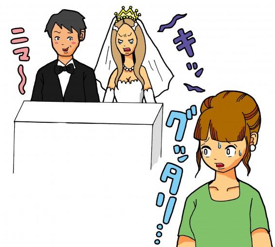 困った結婚式