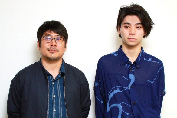 熊切和嘉監督(左)と村上虹郎さん