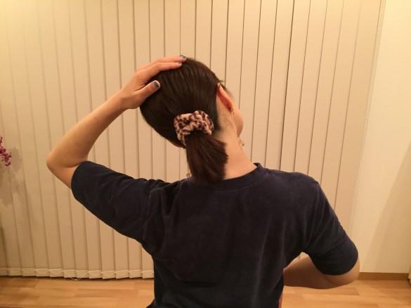 肩ストレッチ1