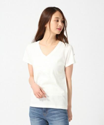オーガニックVネックTシャツ半袖