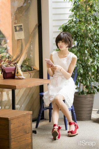 モデル・高須ミカサン(158cm)