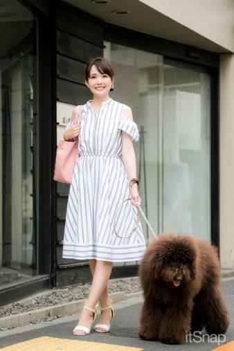 モデル、タレント・浅井麻里サン(164cm)