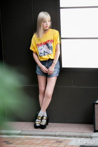 DJ、DIVA&RAMディレクター・畑中奈緒美サン(165cm)