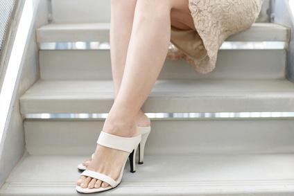 サンダルを履く季節になると気になる、かかとの角質