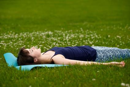 自然呼吸で休む