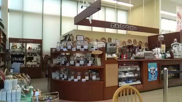 ツルヤ内のミカドコーヒー