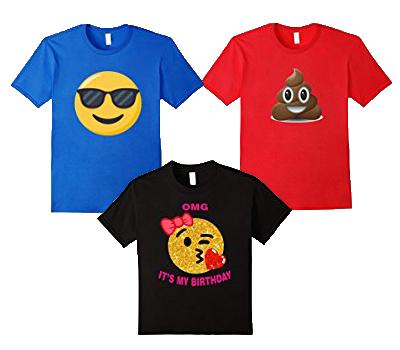 絵文字Tシャツ