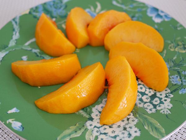 黄桃 カット