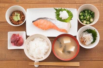 和食なら簡単にバランスがとれます