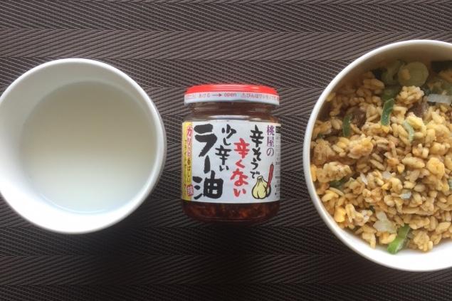 中華粥材料
