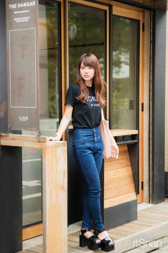 駒沢大学二年・糠信ひなのサン(160cm)