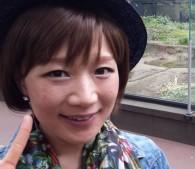 ウィッグ姿。上野動物園