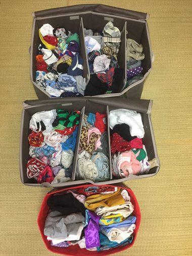 マロくんの衣装箱