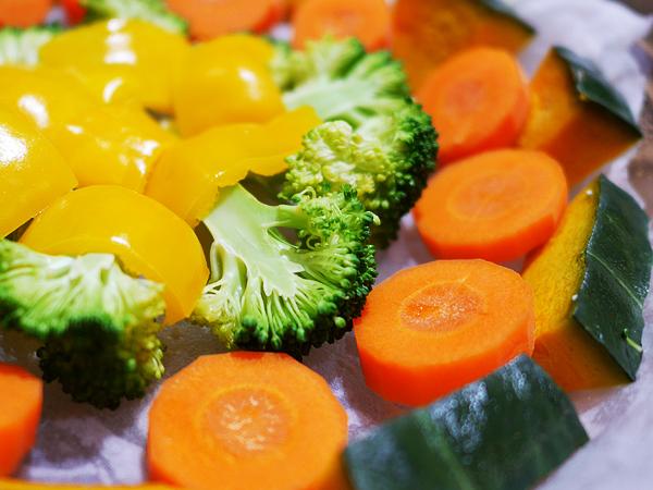 ぬらくるチン レンチンホカホカ温野菜