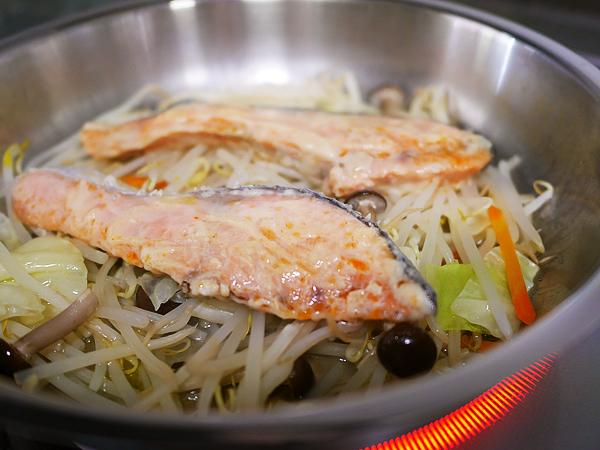 野菜たっぷり魚蒸し 完成
