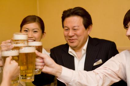 上司と飲み会