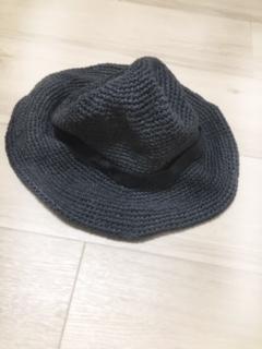 縮んだ麦わら帽子