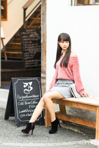 モデル・藤高つばさサン(160cm)