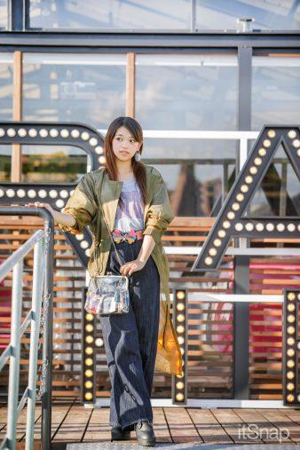 女優、S大学二年・岡村茉奈サン(154cm)