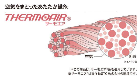 サーモエア繊維