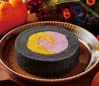 プレミアムかぼちゃ&紫芋のロールケーキ