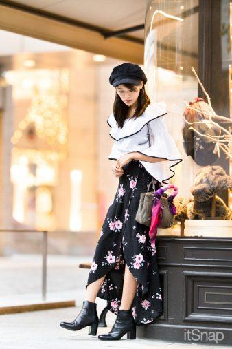 モデル・東野佑美サン(168cm)