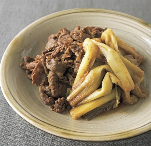 牛肉と長ネギのカレーすき煮