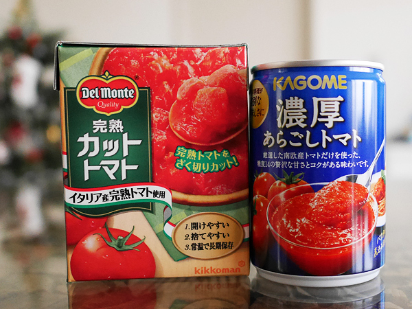 カットトマト・あらごしトマト