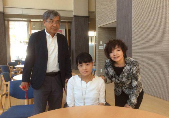 野田あすかさんと家族