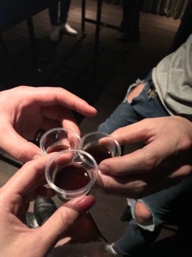 イエガーで乾杯!