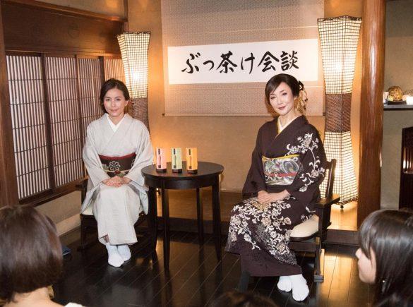 左から、杉本彩さん、川崎貴子さん