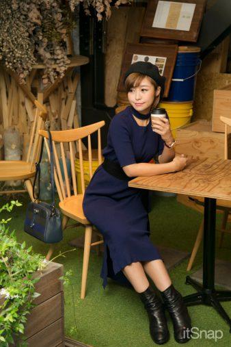タレント、女優・綾瀬羽乃サン(153cm)