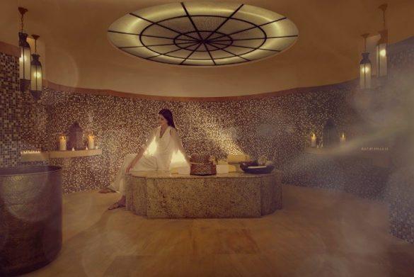 パレスダウンタウンホテルはメニュー豊富で肌質チェックも受けられる 写真/The Palace Downtown Dubai