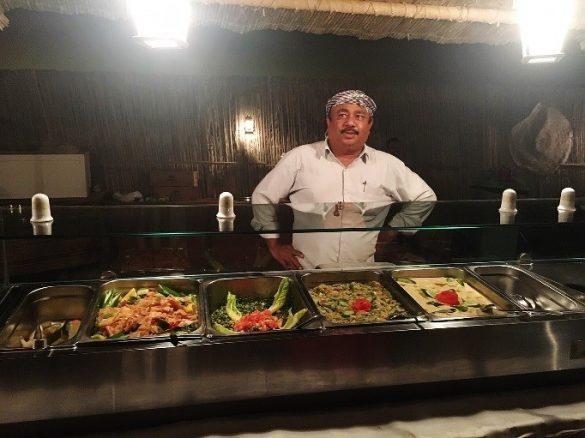 さまざまなアラブ料理を楽しめる 写真/編集部