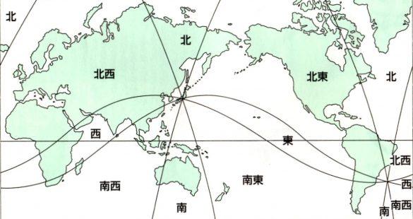 吉方位地図