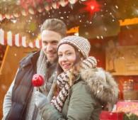 冬のカップル