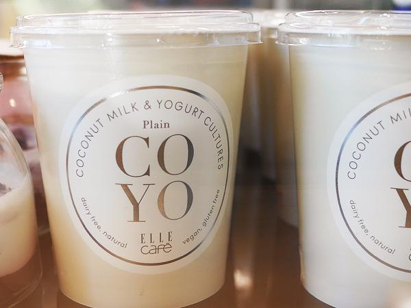 ココナッツヨーグルト(ELLE cafe COYO)2