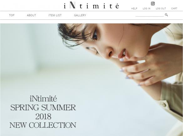佐々木希「intimite(アンティミテ)」