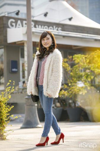 関西学院大学一回生・末井櫻子サン(152cm)