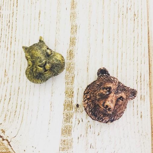 森の動物マグネット