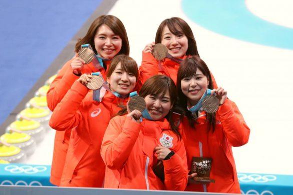 カーリング銅メダル