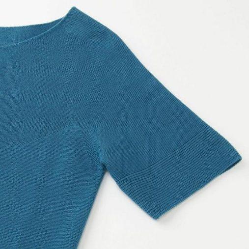 3Dコットンクルーネックセーター2