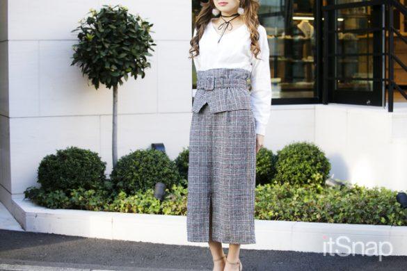 モデル・高須ミカさん(158cm)