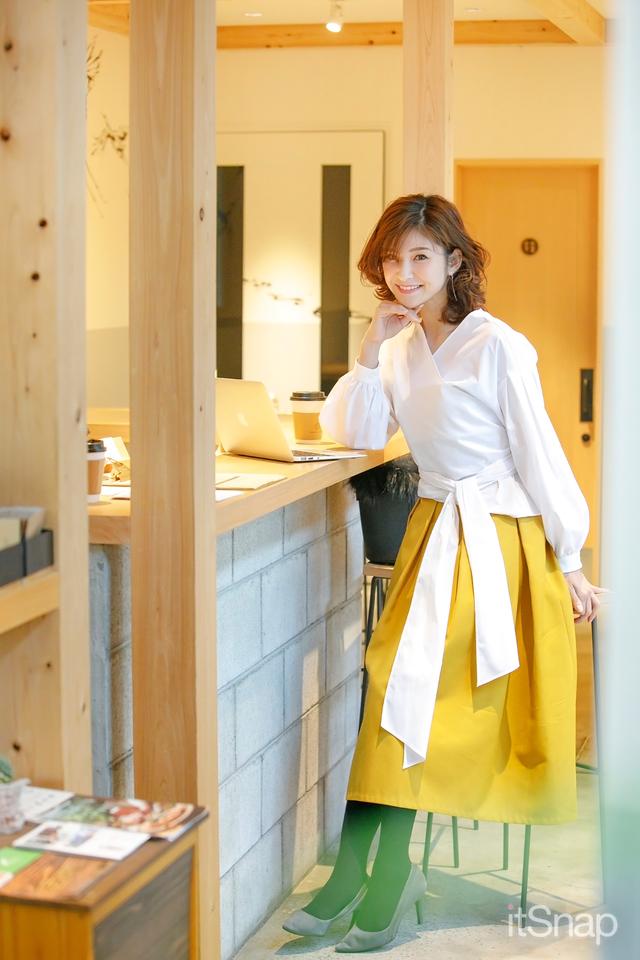 モデル・田尻夏樹サン(168cm)