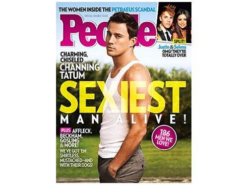 ピープル誌「最もセクシーな男」