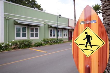 ハワイの街角
