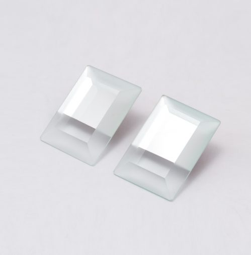 SIRI SIRI「MIRROR Earrings RECTANGLE 」